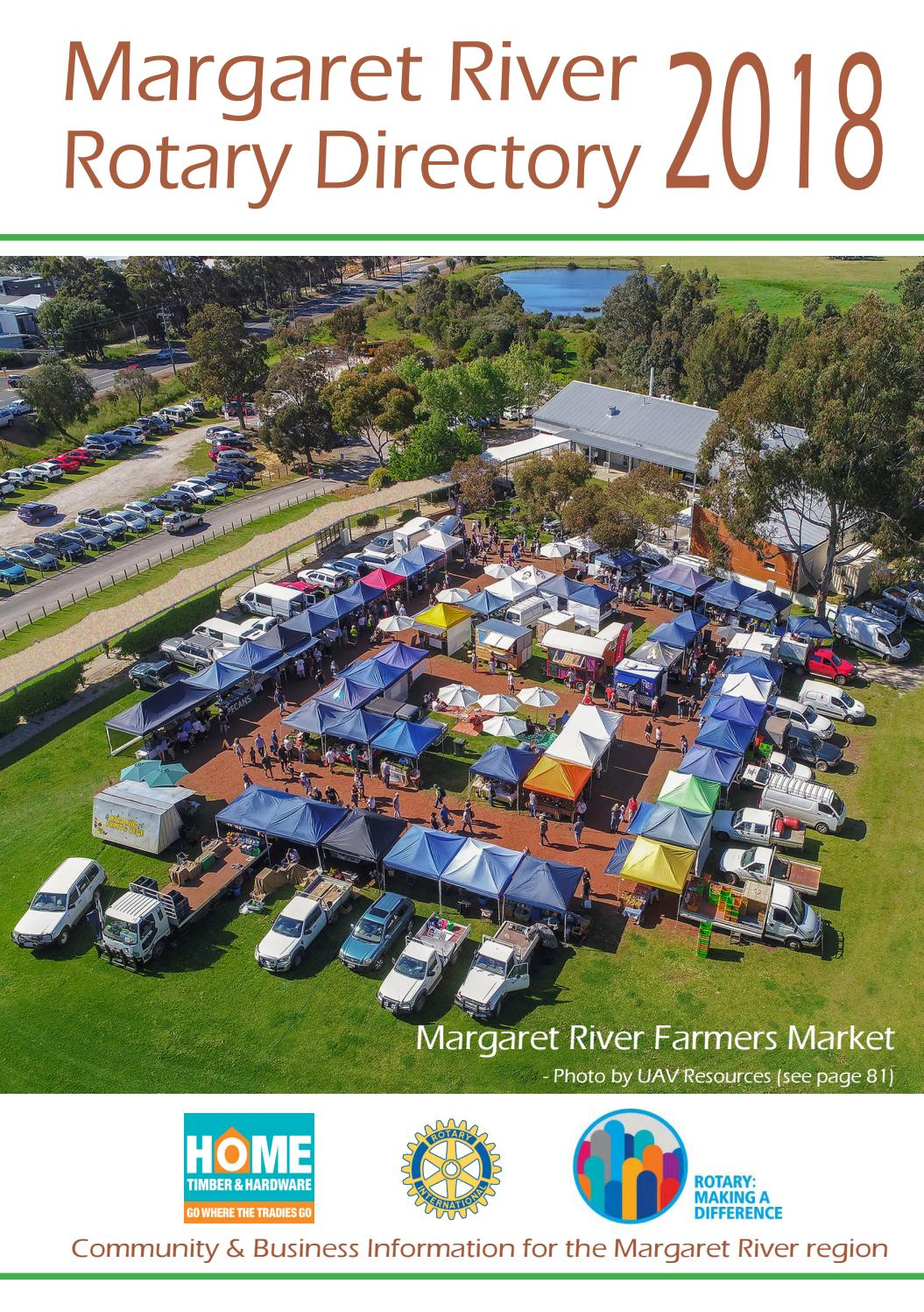 4425fcd7e Margaret River Rotary Directory 2018 by George Teasdale - issuu