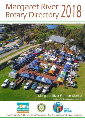 Margaret River Rotary Directory 2018 by George Teasdale - issuu