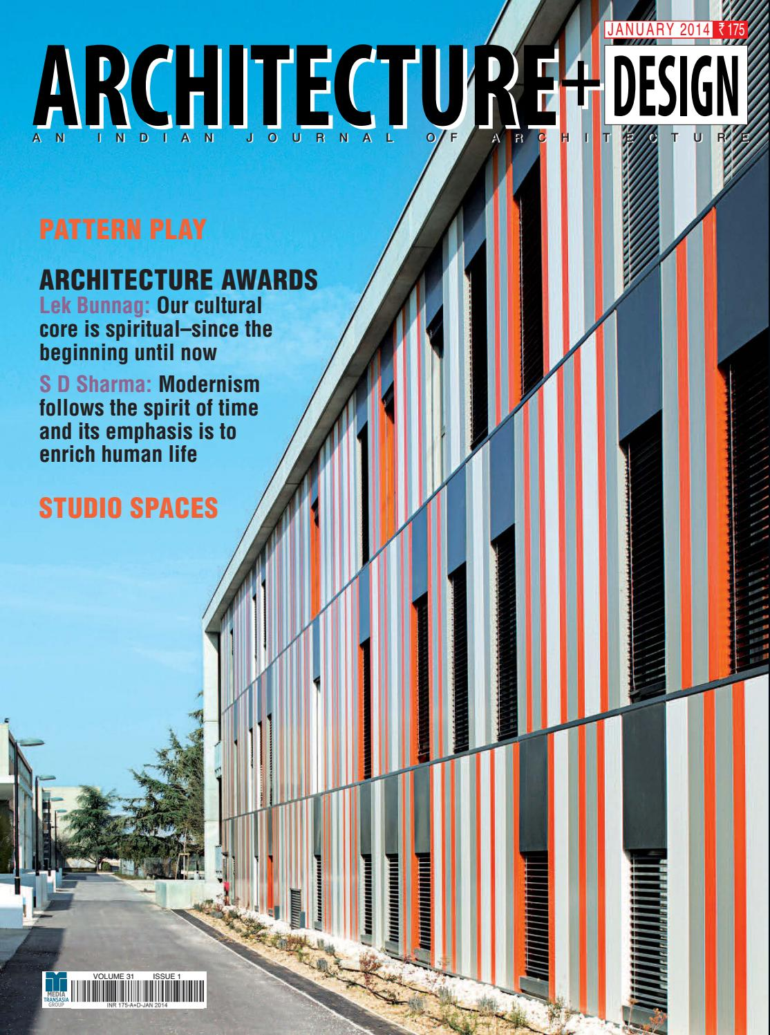 Architecture+ design 2014 01 by ArchExist - issuu