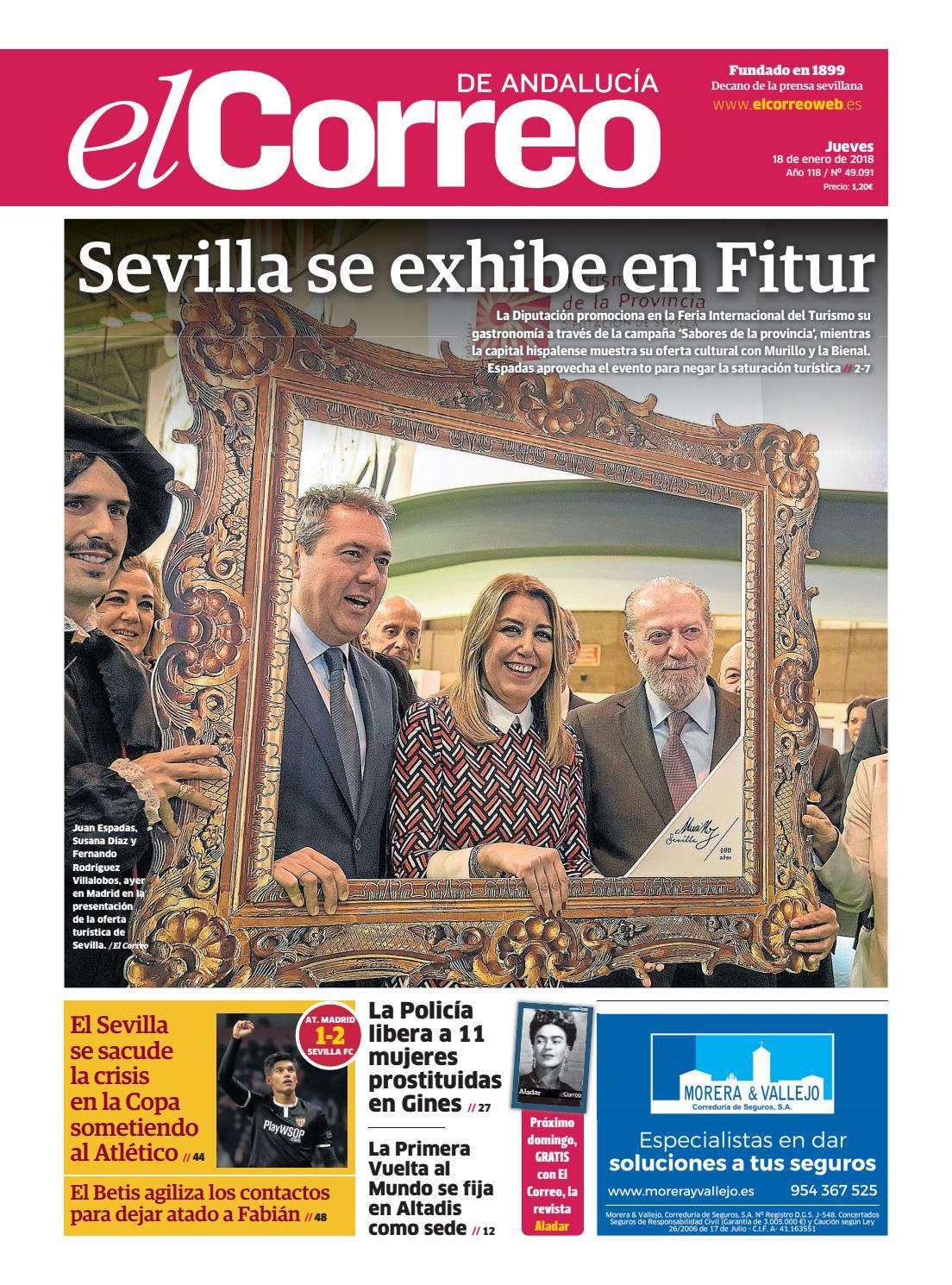 18.01.2018 El Correo de Andalucía by EL CORREO DE ANDALUCÍA S.L. - issuu b79f305850799