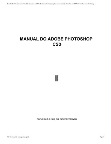 Ebook Belajar Photoshop Cs3