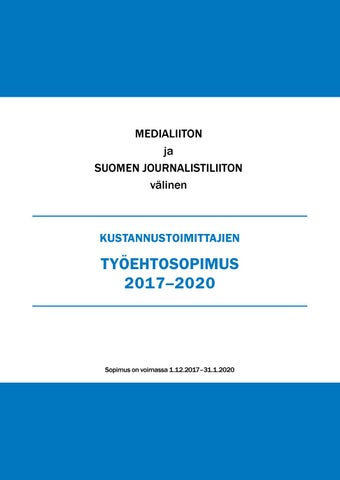 YTN Protocol of sign Finnish Chemical industry Senior Salaried Employees 2020-2022