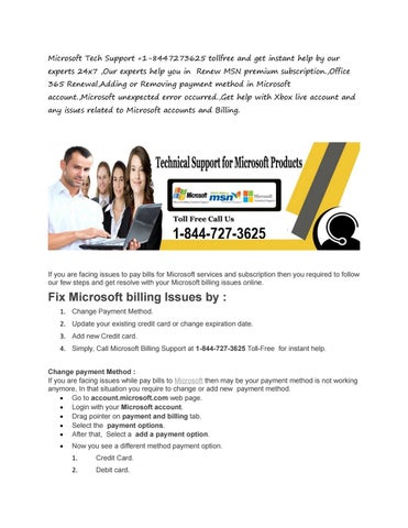 microsoft tech support 1 8447273625 tollfree and get instant help by our experts 24x7 our experts help you in renew msn premium subscriptionoffice 365