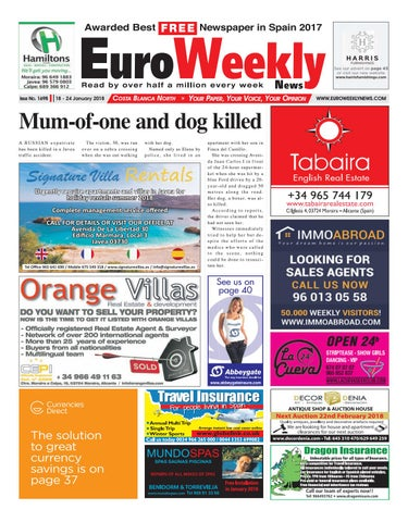 6f43c017b61b Euro Weekly News - Costa Blanca North 18 - 24 Jan 2018 Issue 1698 by ...