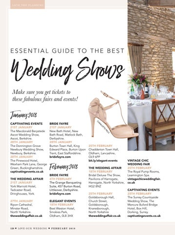 Love Our Wedding February 2018 By Love Our Wedding Issuu