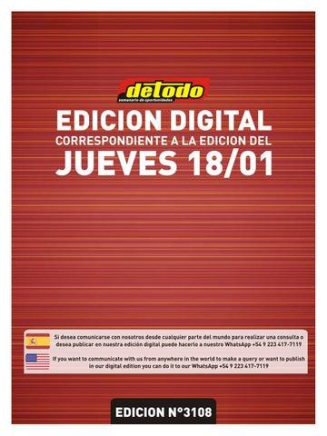 N° 18012018 3108 Edición By Semanario Detodo zqOUwxZ
