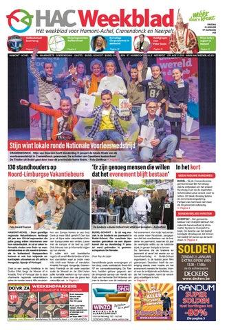 HAC Weekblad week 03 2018 by HAC Weekblad issuu