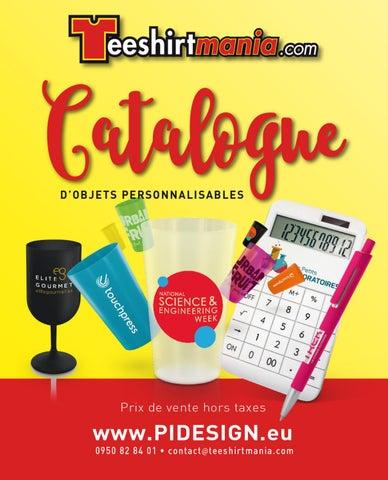 Catalogue 2017 objets   cadeaux personnalisés teeshirtmania by ... d00b021f30f