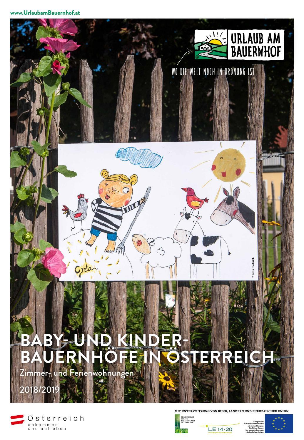 Urlaub am Baby und Kinderbauernhof 2018/2019 by Urlaub am Bauernhof ...