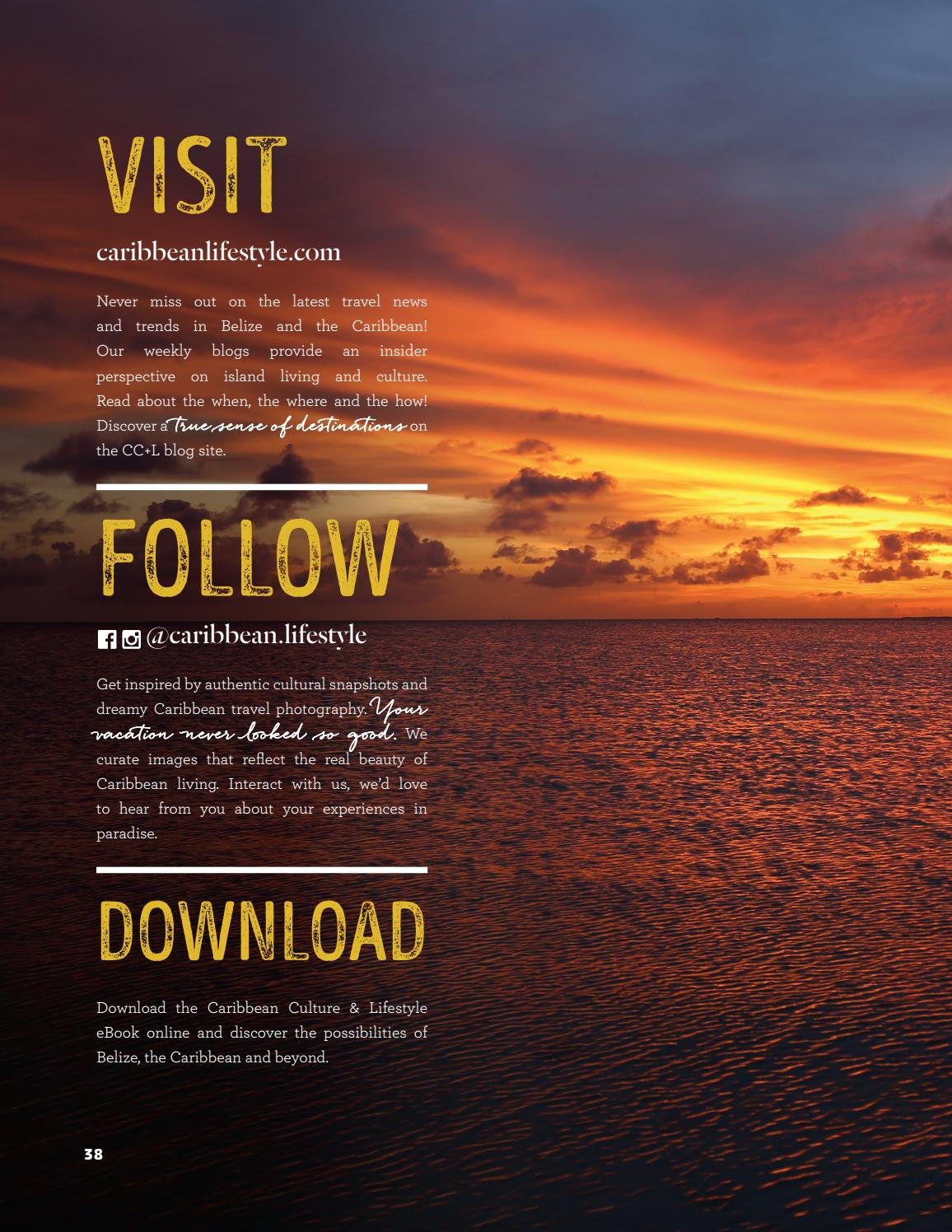 331269c14ffcc Caribbean Culture and Lifestyle - Issue 1 - 2018 by McNab Visual ...