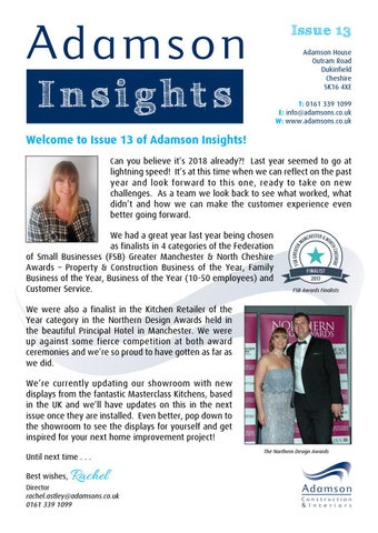 What Worked And Didnt This Year 10 >> Adamson Insights Issue 13 By Adamsons Interiors Issuu