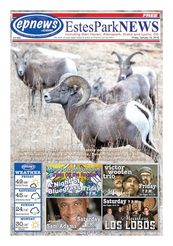 Estes Park News January 19 2018 By Estes Park News Inc Issuu