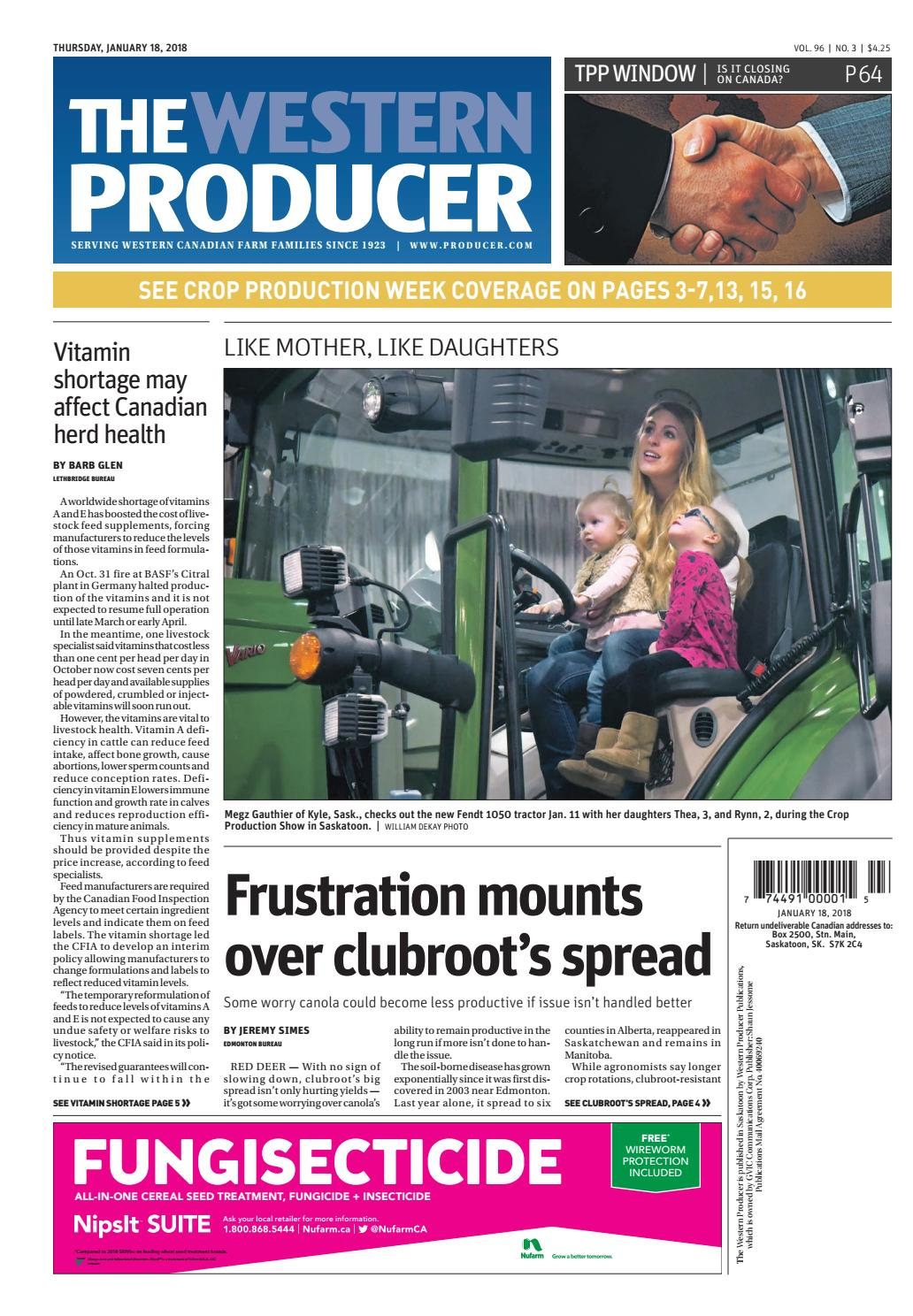 huge discount f5471 5c97f The western producer january 18, 2018 by The Western Producer - issuu