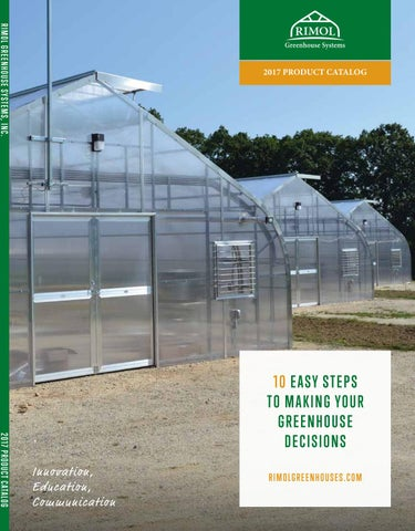 Rimol Greenhouse Systems - Product Catalog 2018 by Altos - issuu on