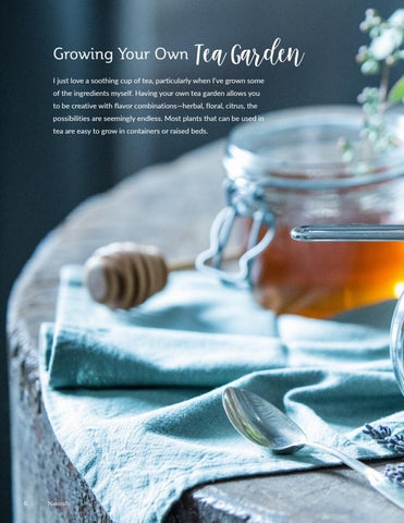Page 6 of Creating Your Own Tea Garden