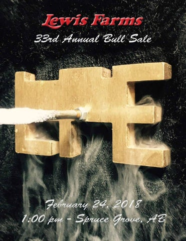 c6c8501b21c 33rd Annual Lewis Farms Bull Sale by Lewis Farms - issuu