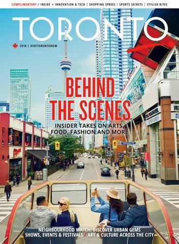 9bb2a056c3 2018 Toronto Magazine by Tourism Toronto - issuu