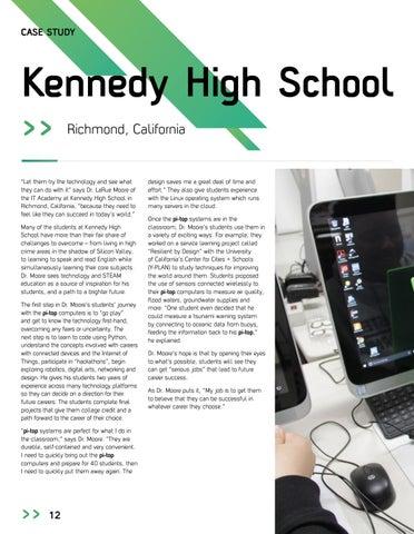 Page 14 of US School Case Study - Kennedy High School