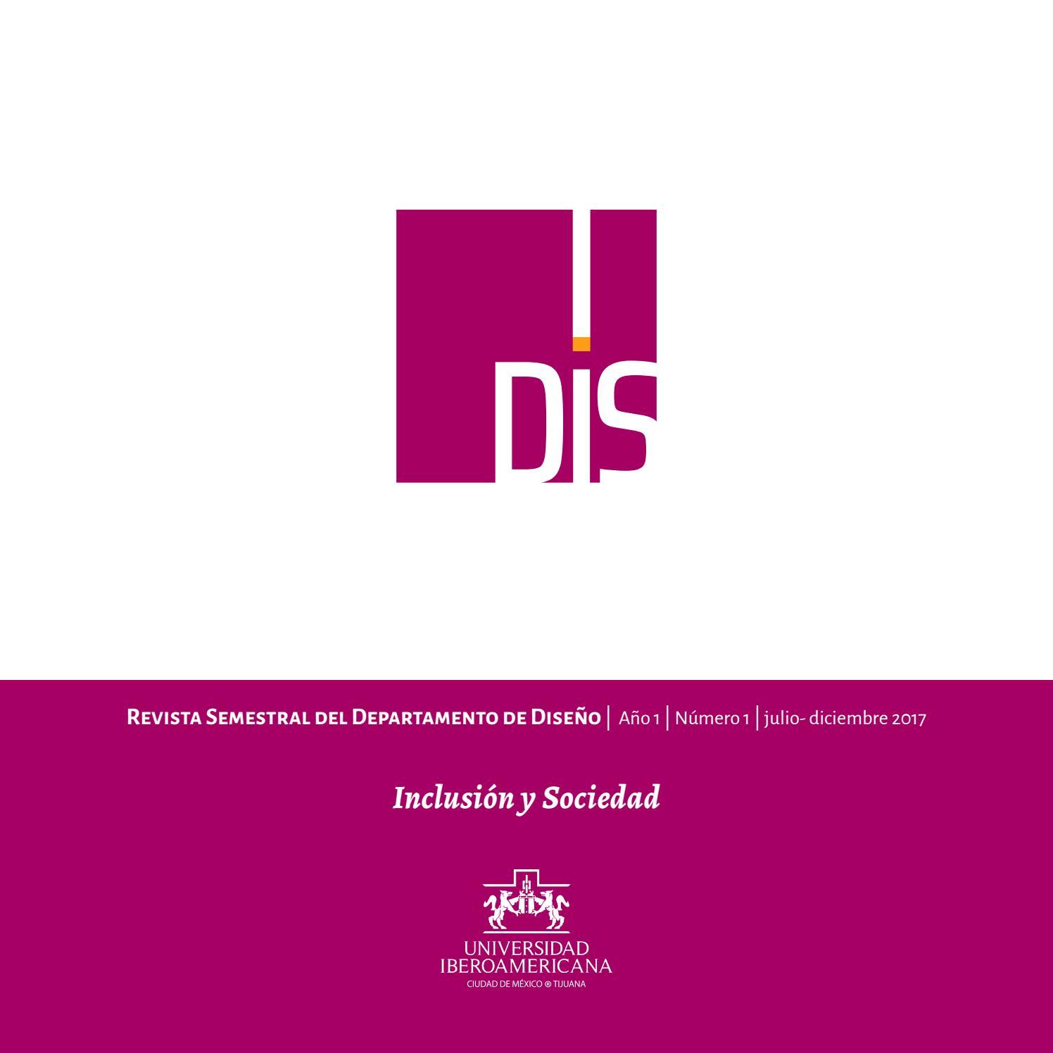 Revista dis 1 1 2017 by iberoDIS - issuu
