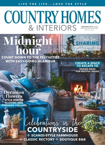 9e6895b5563 Country Homes and Interiors - January 2018