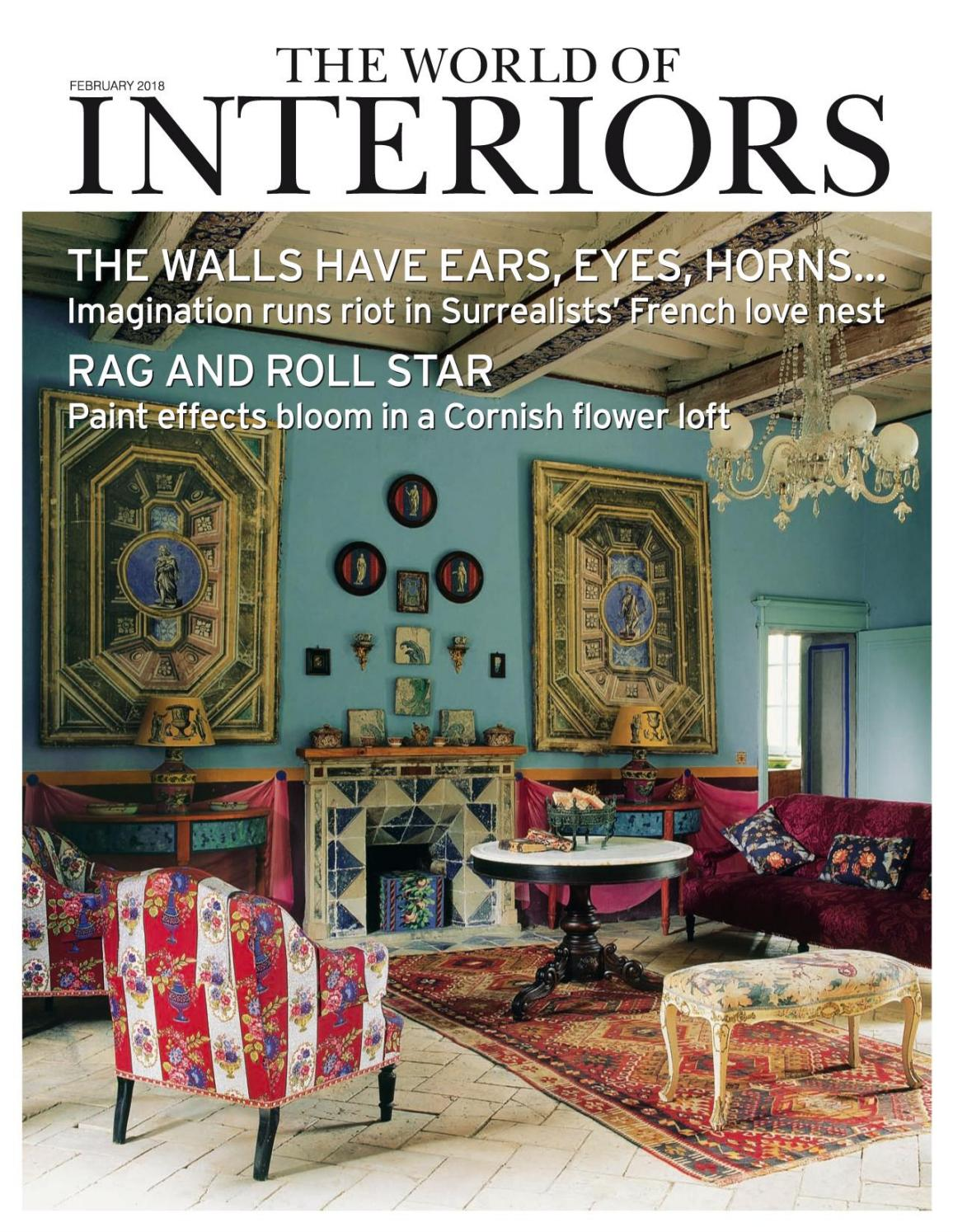 majestic interiors pany profile interior designers in online interior design firms The World of Interiors - February 2018 by Andrea Palmieri - issuu