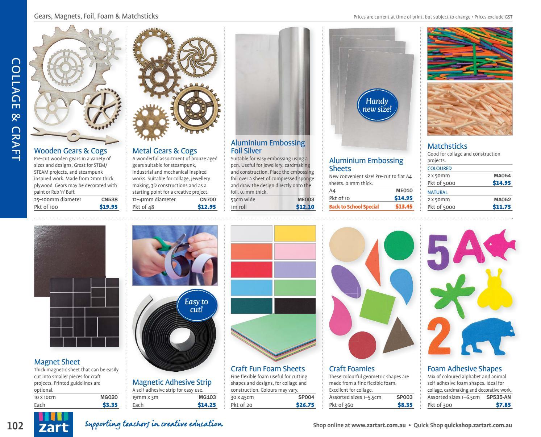 Zart Classroom Catalogue 2018 by Zart : Art, craft and
