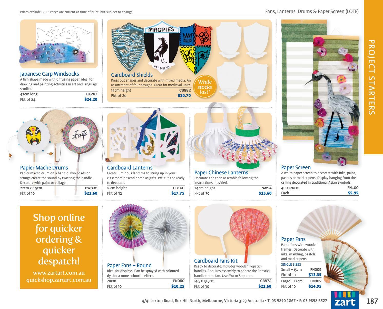 Zart Classroom Catalogue 2018 by Zart : Art, craft and education