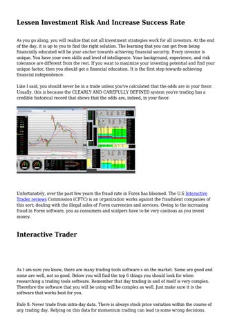 Using Stock Trades Works Trading Program For Successful Trading And Investing