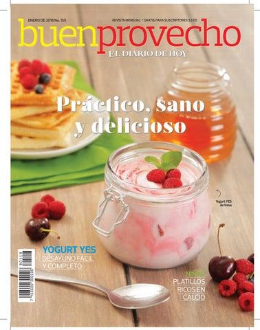 Buen Provecho Enero 2018 by Grupo Editorial Altamirano - issuu a18097c4acb