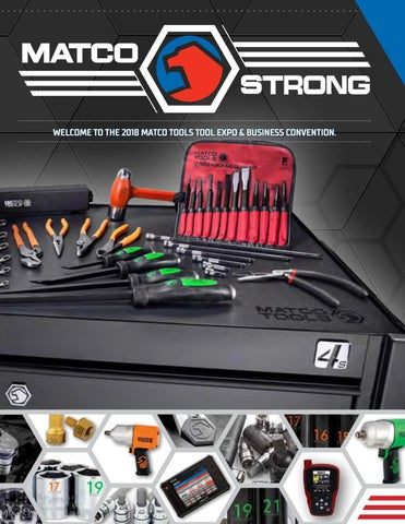 2018 Expo show guide by Matco Tools - issuu