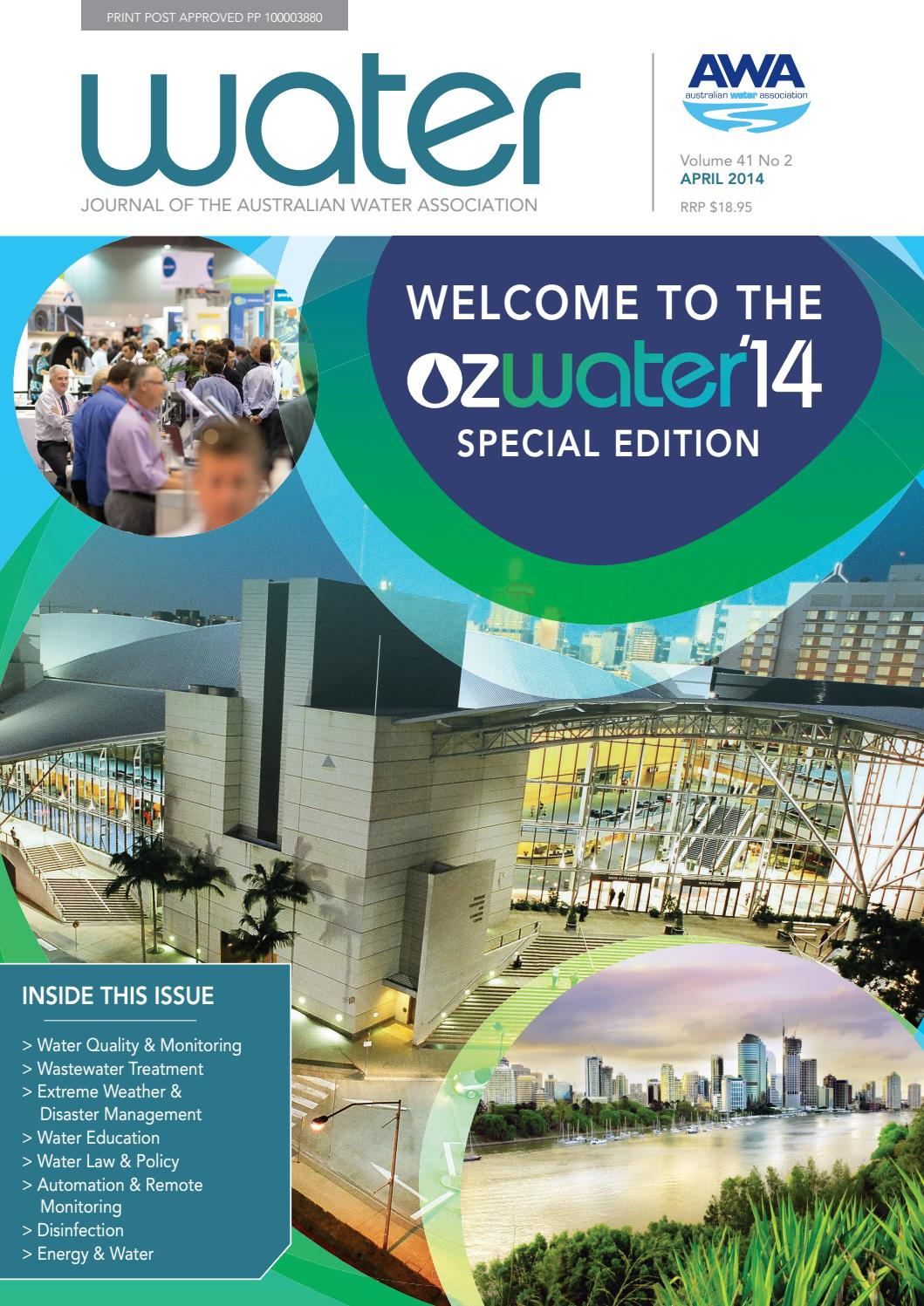 Water Journal April 2014 By Australianwater Issuu 2016 220v 5g Diy Ozone Generator And Circuit Board For Air Or