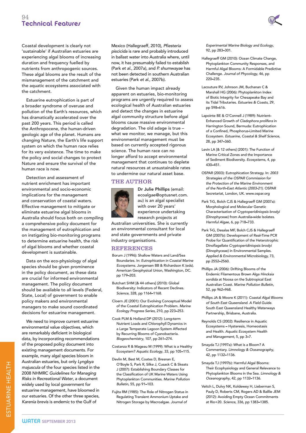 Water Journal September 2013 by australianwater - issuu