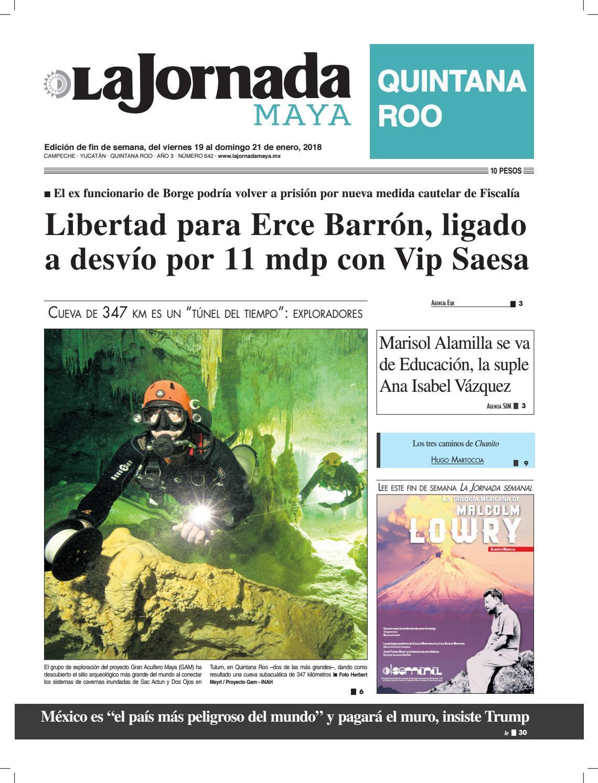 La jornada maya · viernes 19 de enero de 2018 by La Jornada Maya - issuu 9c45874262f