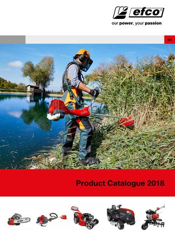 Efco - Product Catalogue 2018 by Emak Spa - issuu