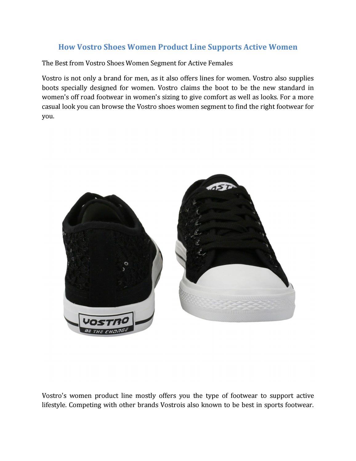 How vostro shoes women product line