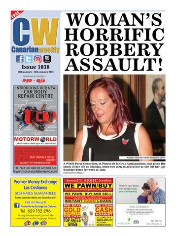 9bc54f6db3 Cw issue 1038 by Canarian Weekly - issuu