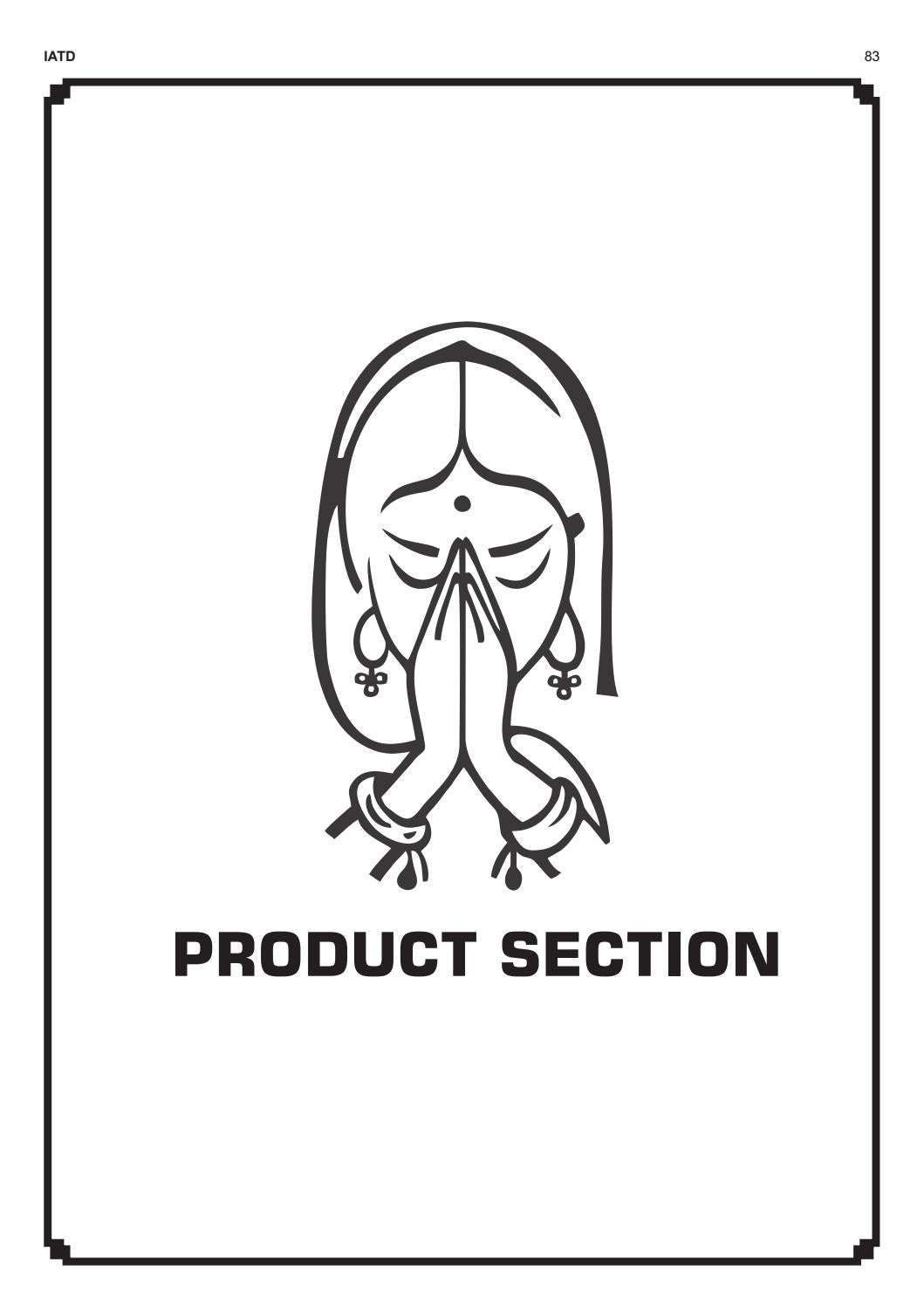 Indian Apparel and Textile Directory product section 6th
