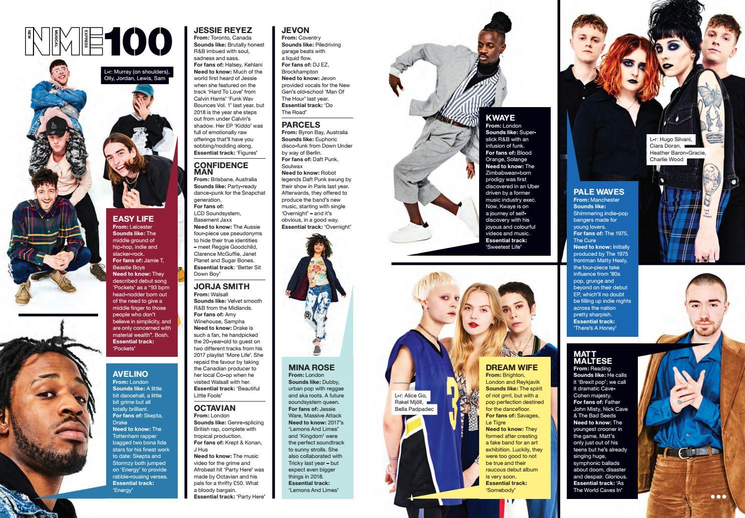 Nme 19 january
