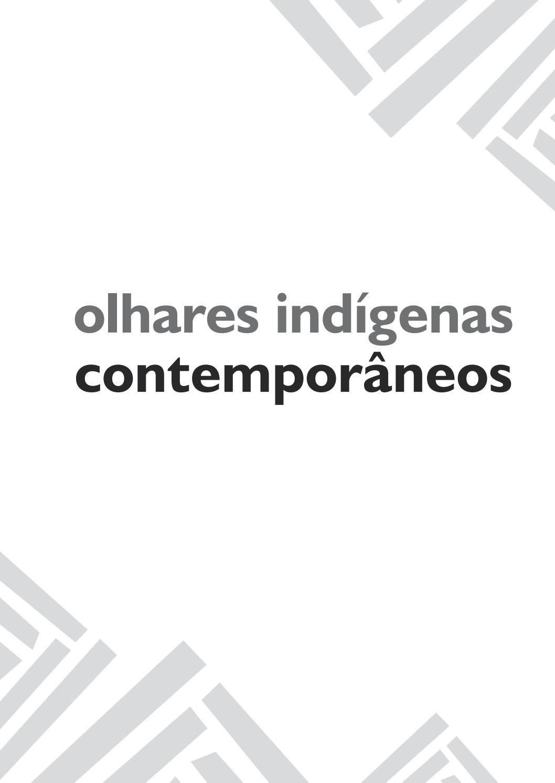 Olhares indígenas contemporâneos by Publicações Ufopa - issuu 31079062979