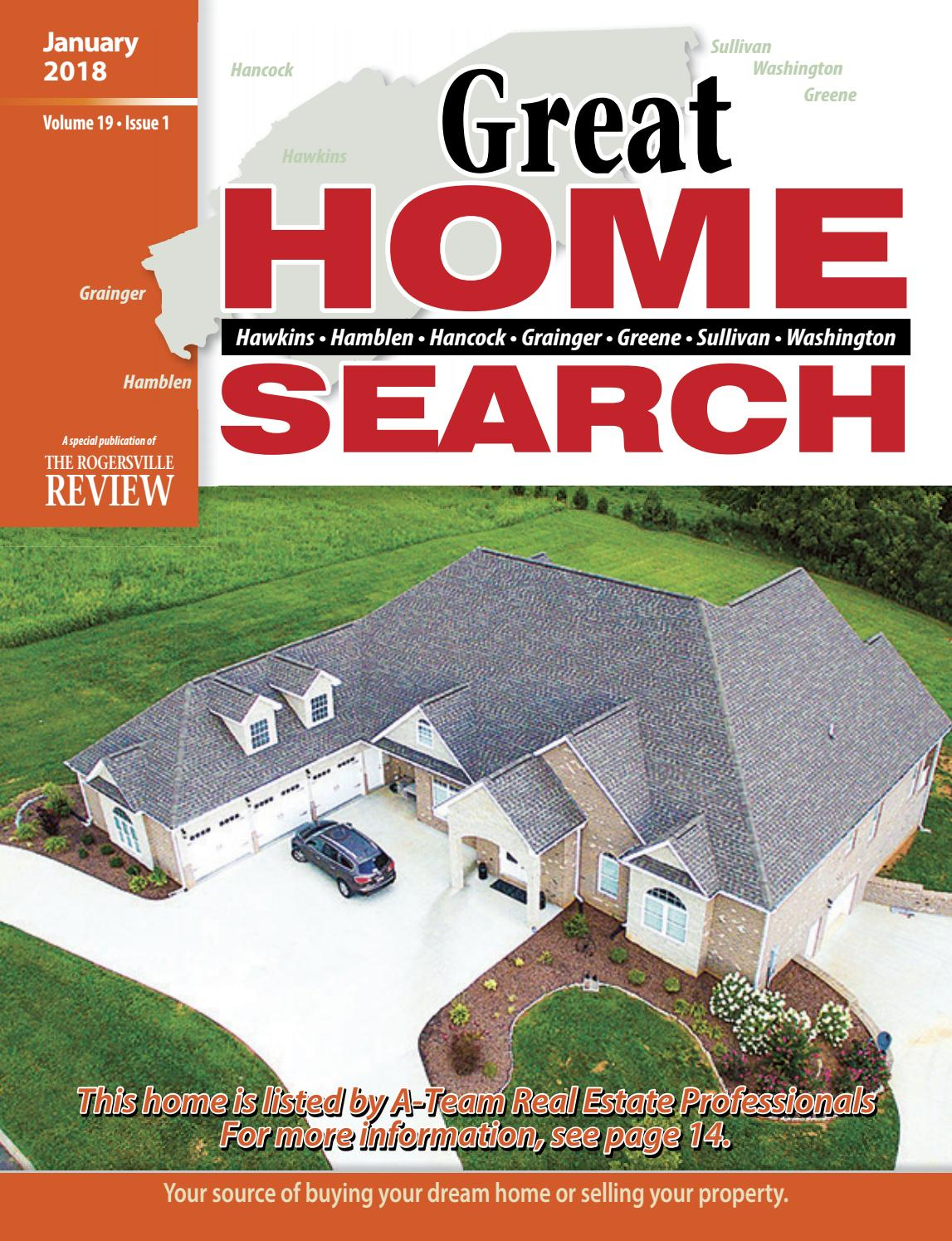 Great Home Search January 2018 By Discover Hawkins County Issuu Power For A Detached Garage Shed Greenhouse Or Workshop Part 1