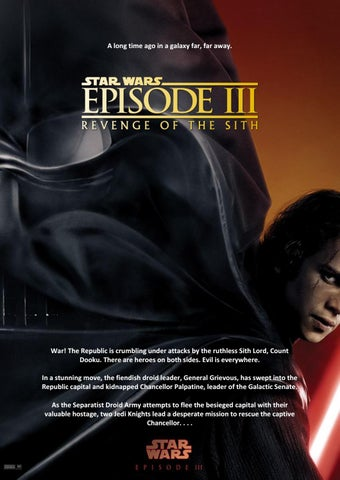 Star Wars Episode Iii Revenge Of The Sith Script By Ovidiu Muca Issuu