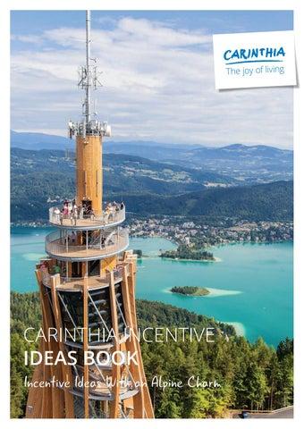 Carinthia Incentive Ideas Book By Kongres Magazine Issuu
