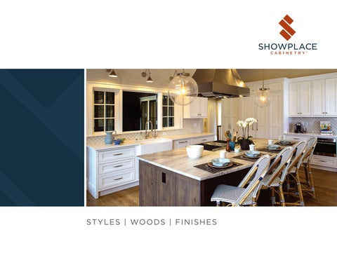 Showplace Cabinetry Styles, Woods U0026 Finishes By Showplace Wood ...