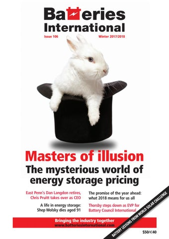 Batteries International magazine - issue 106 by hamptonhalls - issuu