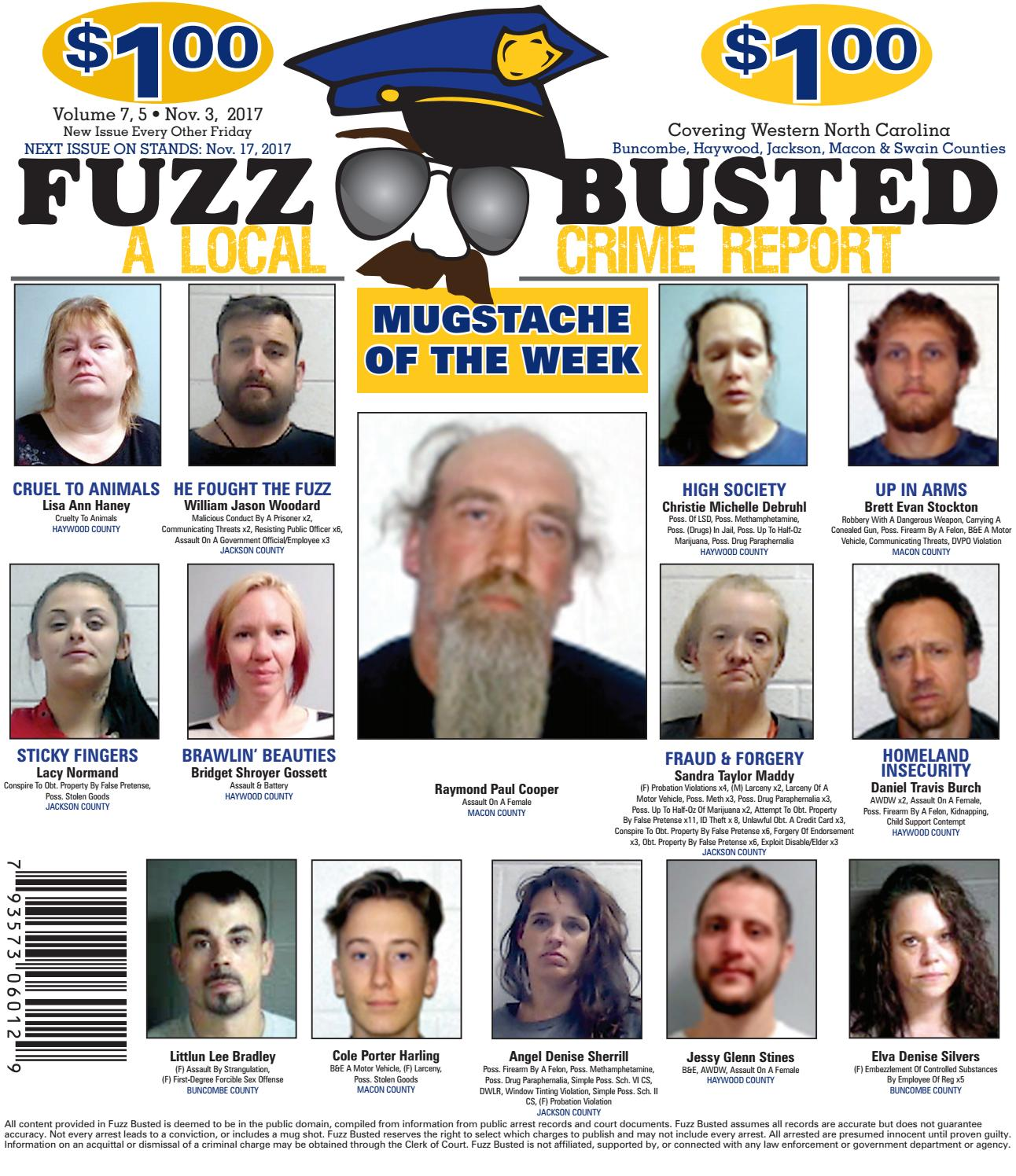 Volume 7 Issue 5 • November 3, 2017 by Fuzz Busted - issuu