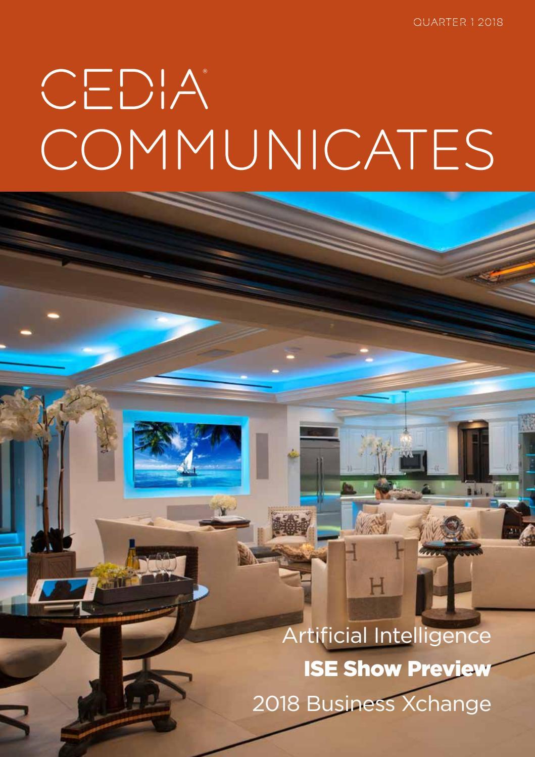 Cedia Communicates Quarter 1 2018 By Cedia Emea Issuu