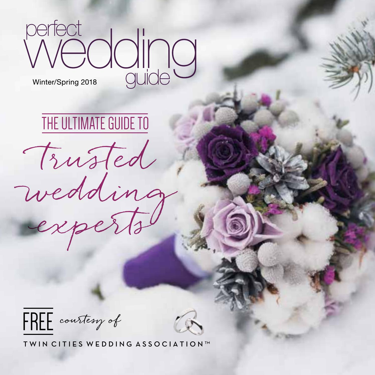 Perfect Wedding Guide Twin Cities Winter/Spring 2018