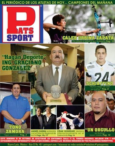 Pats Sport   49 - 12 De Octubre de 2017  patssportmx 7961fac50b0