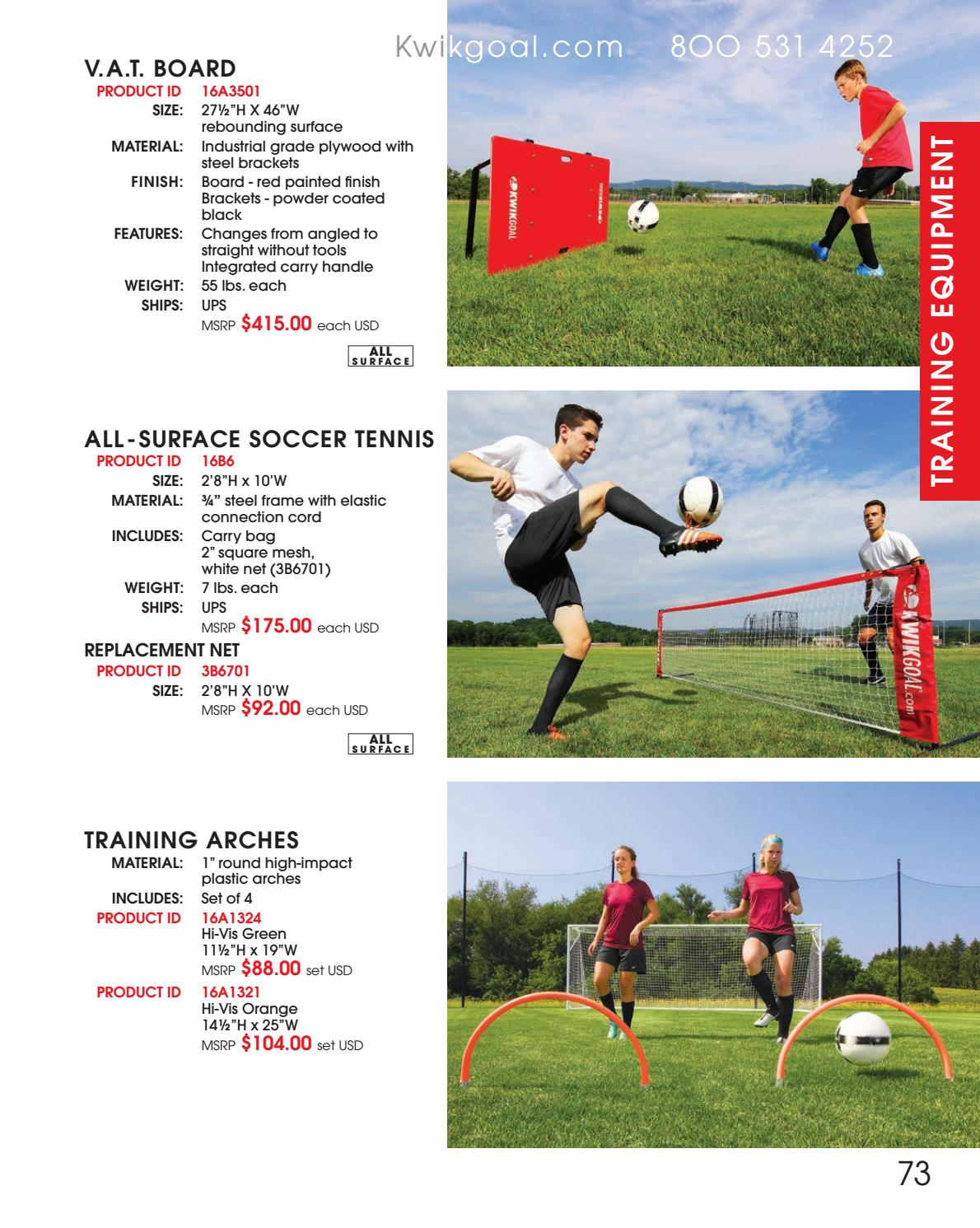 865350368 KwikGoal 2018 Catalog by Team Connection - issuu