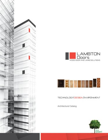Lambton Doors Product Catalog by clearymillwork - issuu
